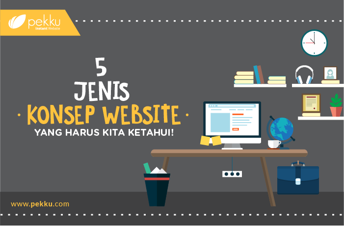 [Infographics] Jenis Website Cover