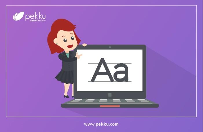 Pekku Editor- Mengganti Jenis Huruf Pada Websitemu-3